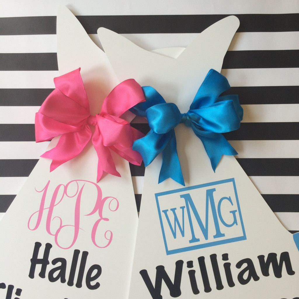 Monogrammed Bundle (Block and Script)