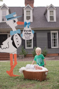 stork & baby signs
